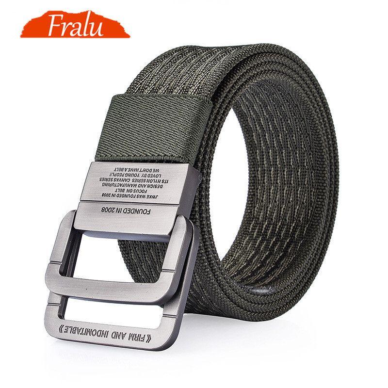 FRALU 100% Nylon ceinture hommes armée tactique ceintures homme militaire taille toile mâle haute qualité équipement sangle toile ceintures