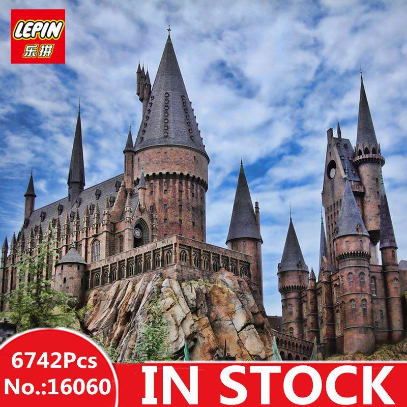 IN STOCK LEPIN 16060 6742Pcs Harry Magic Potter Hogwarts Castle Compatible 71043 Building Blocks Bricks Kids Educational Toys