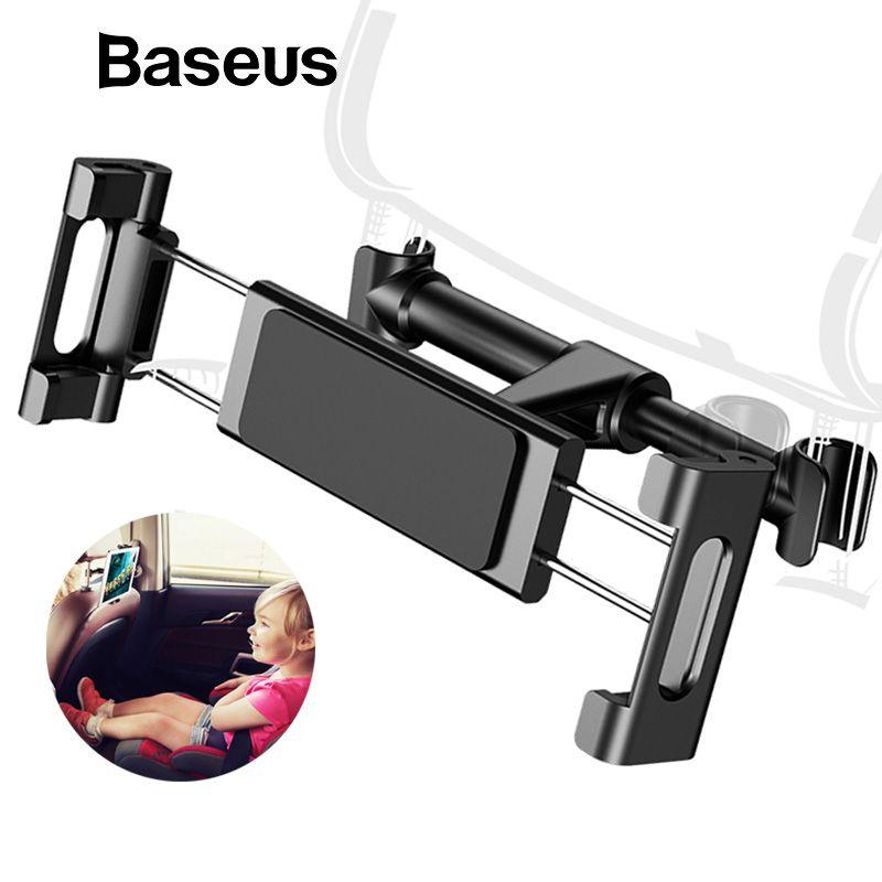 Baseus Rücksitz Auto Telefon Halter für 4,7-12,9 zoll iPad Handy Zurück Sitz Auto Halter Ständer Tablet PC kopfstütze Telefon Halter
