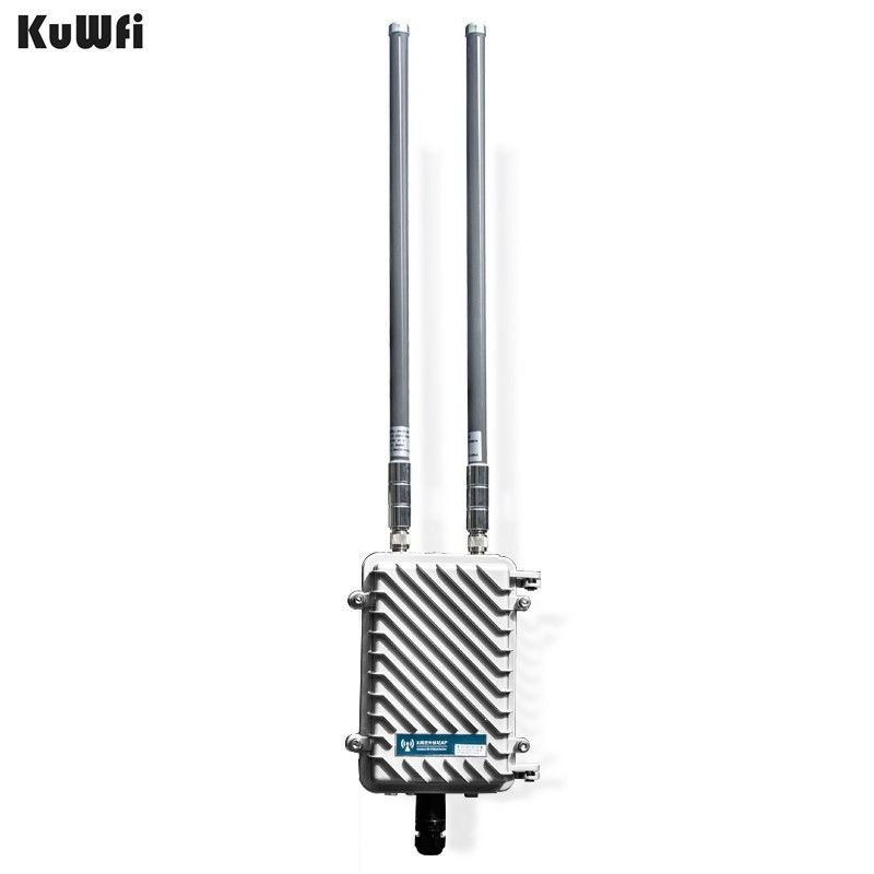 300 Mbps Outdoor Wireless CPE Router Wifi Repeater 500 mw WiFi Signal Verstärker Lange-Palette Access Point Router Mit 2 stücke Antenne