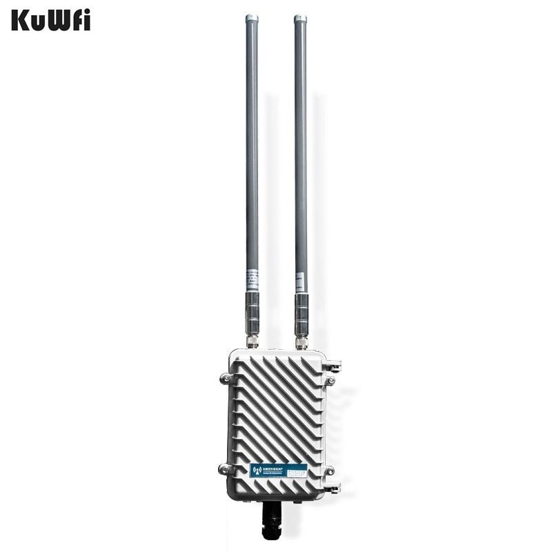 300Mbps Outdoor Wireless CPE Router Wifi Repeater 500mW WiFi Signal Amplifier Long-Range Access Point Router With 2Pcs Antenna