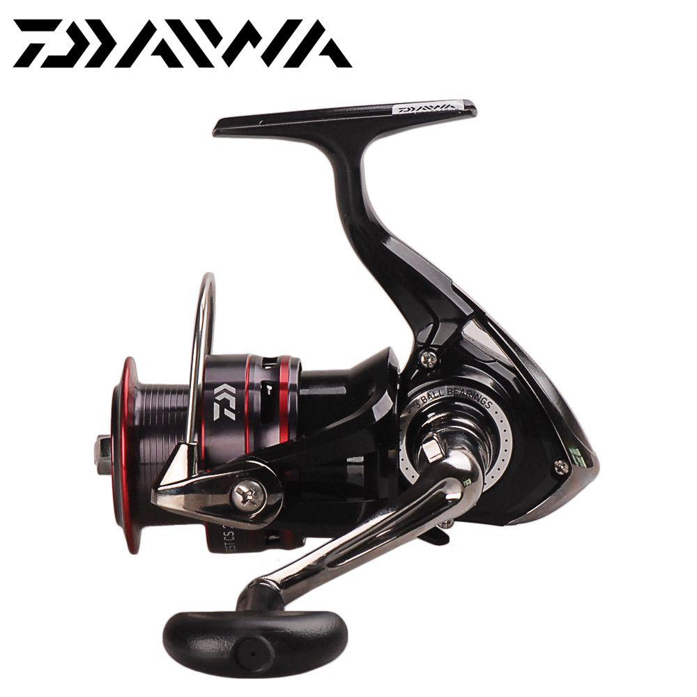 DAIWA Spinning Fishing Reel CREST CS 2500/3000/4000 3+1BB/5.3:1/4-6kg Carretes Pesca Lure Reels Carretilha Moulinet Peche
