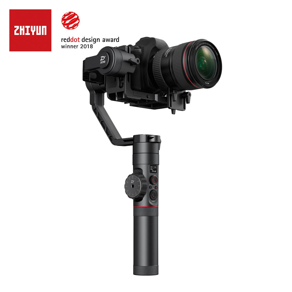 zhi yun Zhiyun Official Crane 2 3-Axis Camera Stabilizer with Follow Focus Control for All Models of DSLR Mirrorless Camera