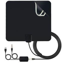 Лидер продаж внутренняя телевизионная антенна высокая усилитель мощности HD ТВ цифровой телевизионный сигнал приём 80 миль диапазон для DVB-T ...