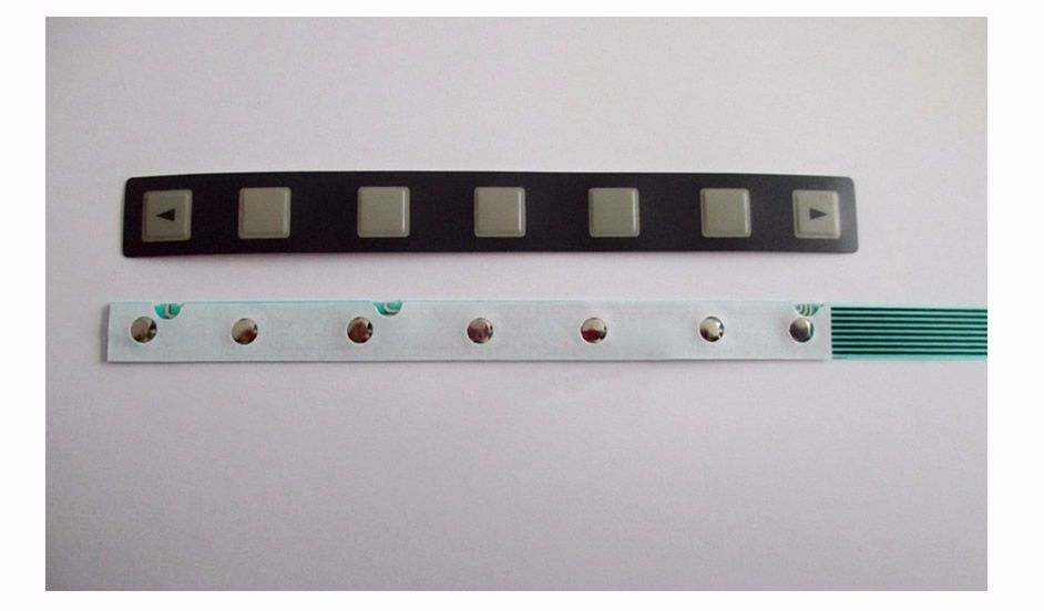 For FANUC 7 KEY A98L-0001-0252 A86L-0001-0298 KEYPAD Keyboard + CABLE FLEX, New in stock.
