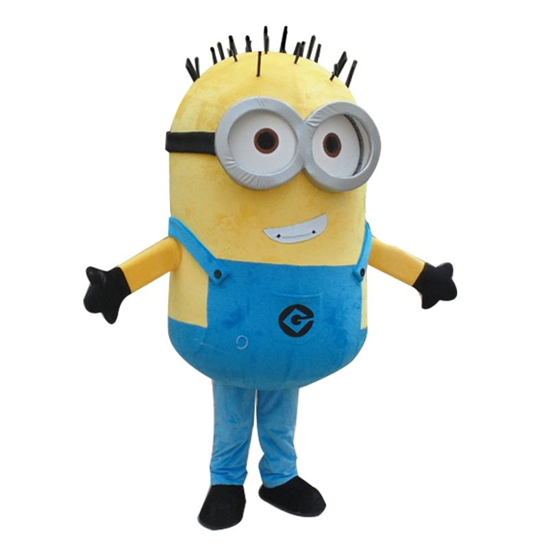 New Minions Mascot Costume EPE Fancy Dress Outfit Adult hot <font><b>selling</b></font> Anime mascot costume Gift for Halloween party free shipping