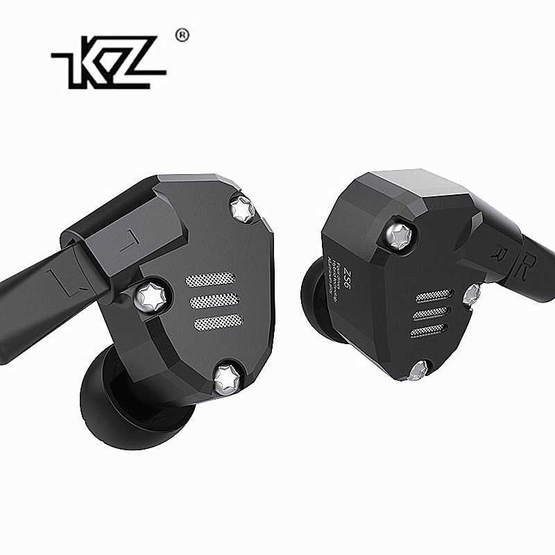 KZ ZS6 2DD+2BA Hybrid In Ear Earphone HIFI DJ Monito Running Sport Earphone Earplug Headset Earbud KZ ZS6 ZS10 ZS5 AS10 ES4