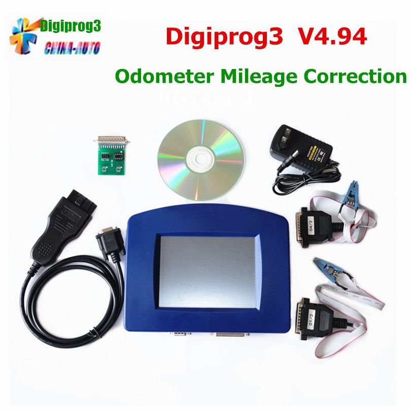 2018 Newest Odometer Programmer Digiprog III OBD Version Digiprog 3 V4.94 With OBD2 ST01 ST04 Cable Odometer Digiprog3 Free Ship