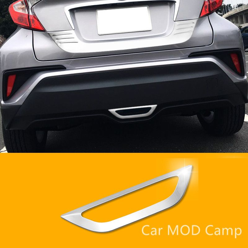 For Toyota C-HR 2016 2017 Stainless Steel Rear Brake Light Lamp Frame Cover Trim 1pcs Car Styling Accessories!