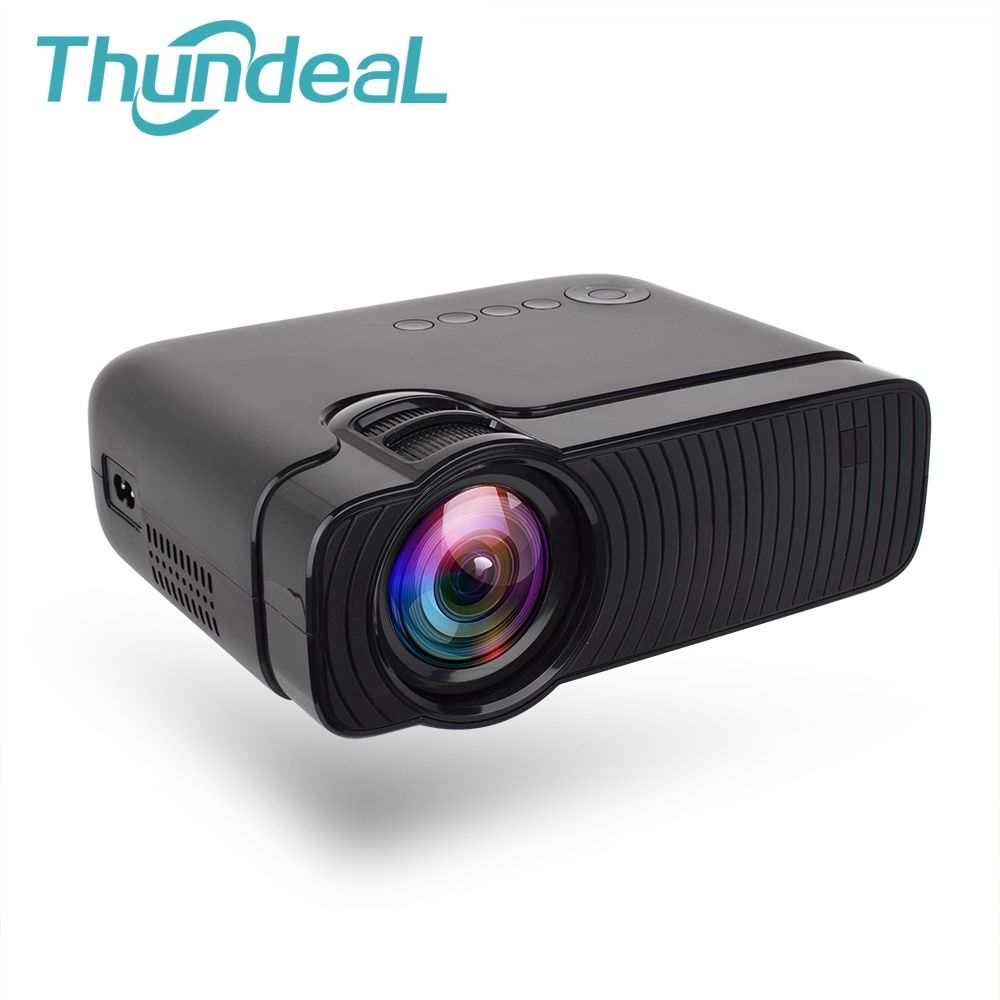 ThundeaL TD30 Projector 2400Lumens Mini LED HD Video Portable Proyector HDMI VGA Support 1080P Game Party Movie LCD 3D Projector