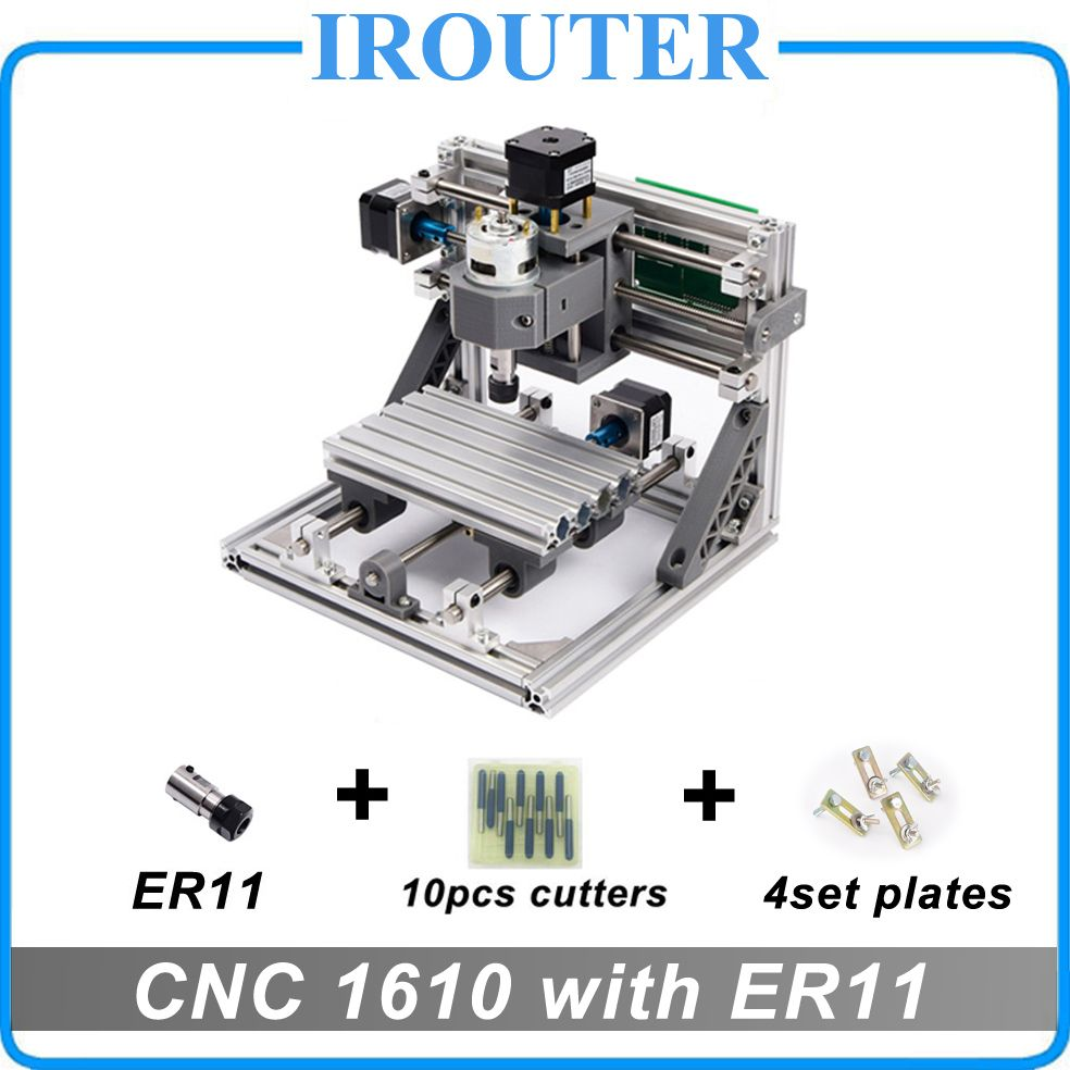 CNC 1610 with ER11 ,mini diy cnc laser engraving machine,Pcb Milling Machine,Wood Carving <font><b>router</b></font>,cnc1610,best Advanced toys