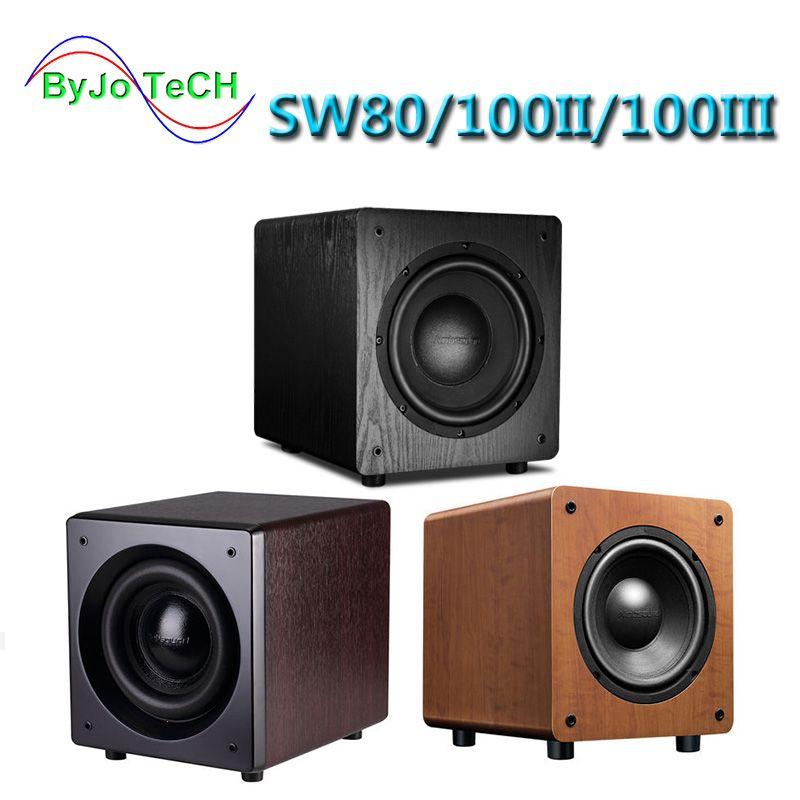 Nobsound SW80/SW100 8 inch 10 inch Active subwoofer speaker 5.1 surround sound HIFI high fidelity sound effect Home Theater