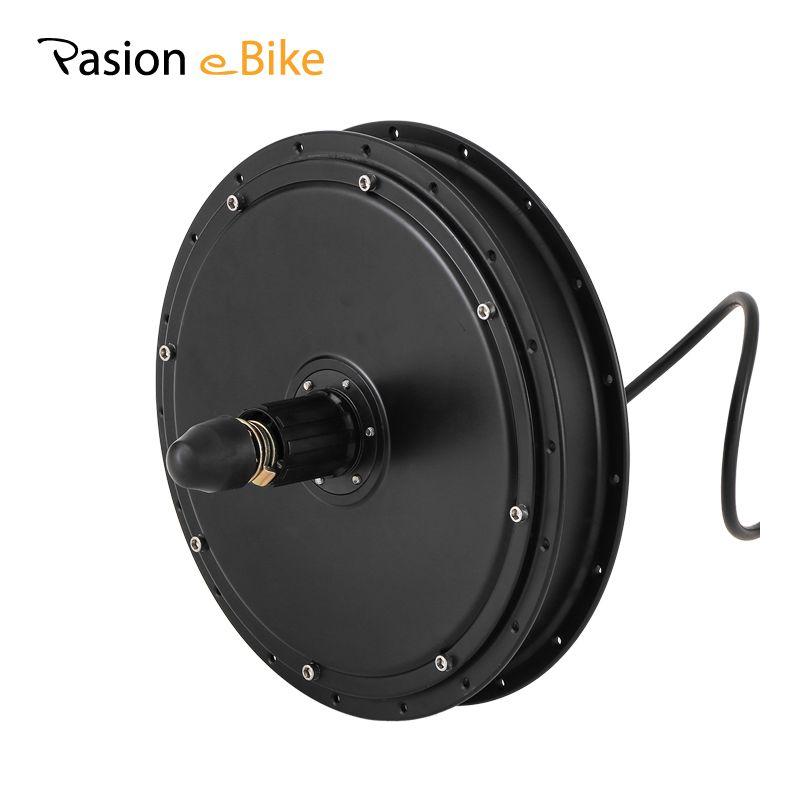 PASION E BIKE 48V 1500W High Speed Rear Wheel Hub Motor Freewheel / Cassette Motor Electric Bicycle Brushless Non-gear Hub Motor