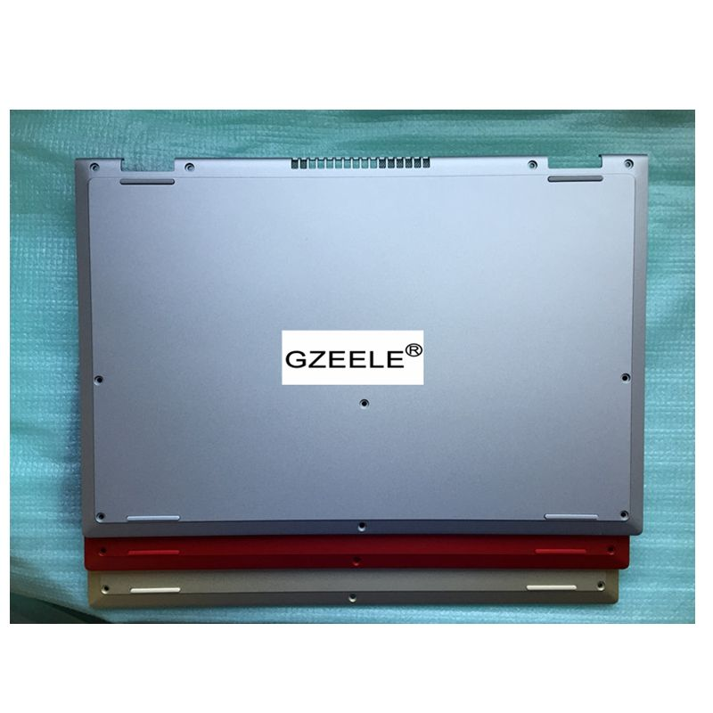 GZEELE new bottom base cover lower case for Dell Inspiron 13-7000 13-7347 7347 7348 R3FHN