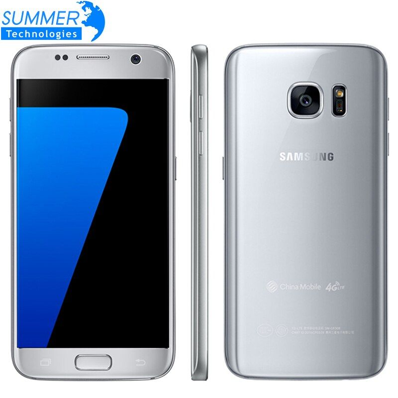 Original Samsung Galaxy S7 G930F Mobile Phone Quad Core 4GB RAM 32GB ROM 4G LTE 5.1 Inch NFC GPS 12MP Smartphone