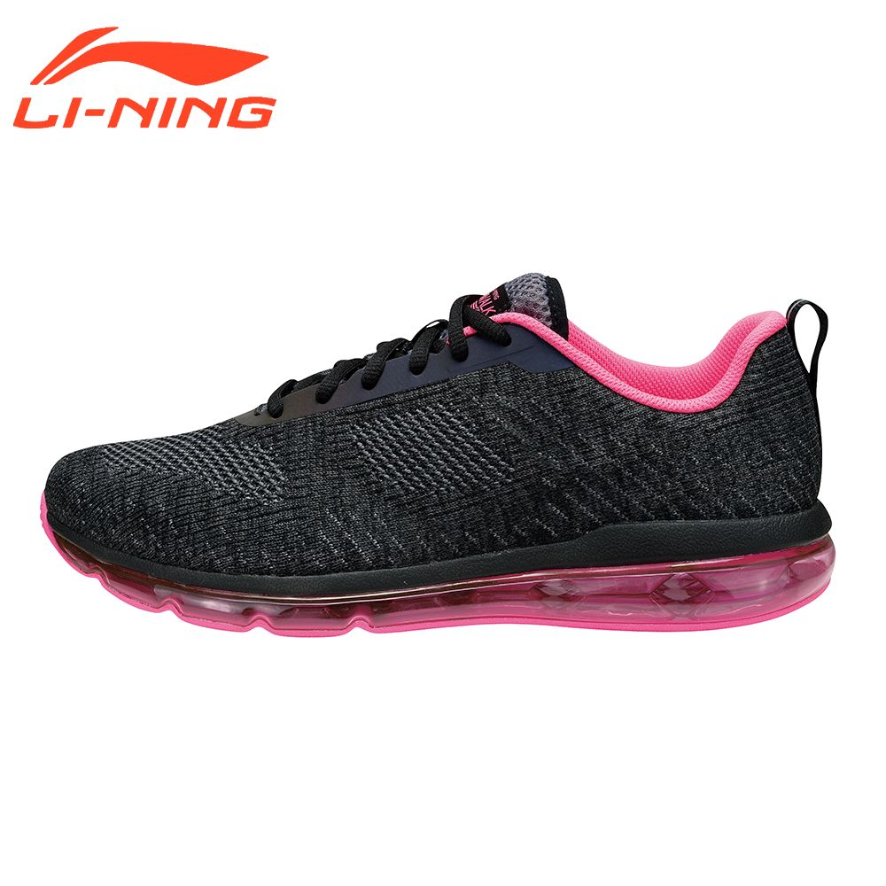 Li-Ning Women Walking Shoes MONO YARN Sneakers Breathable Cushion Heritage LiNing  AIR WALKER Series Sports Shoes AGCM114