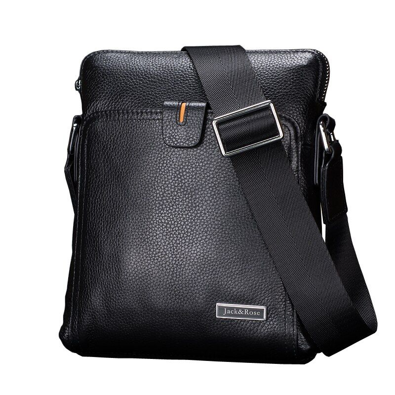 Casual genuine leather men bags business fashion men messenger bag brand designer men's shoulder bag