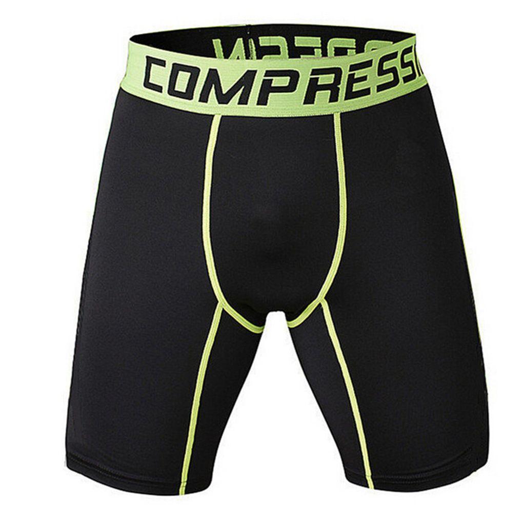 High Quality Mens Schwarzen Engen Compression Shorts Kurze Tarnung Homme 3 farben Casual