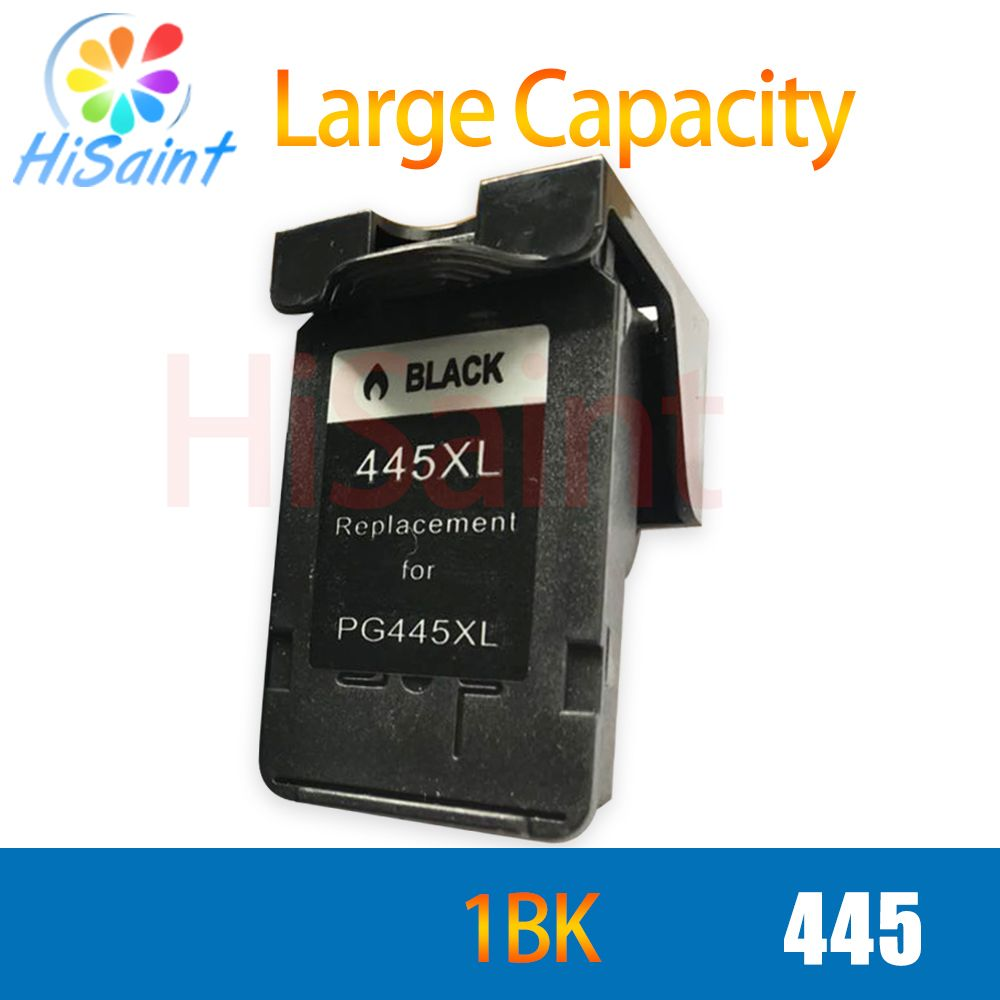 hisaint for canon 445 PG445 PG 445 black ink cartridge for canon pixma ip2810 mg2410 mg2510 ink jet printer free shipping hot