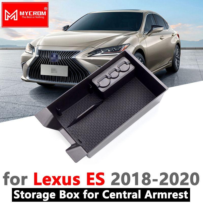 Armlehne Box Lagerung für LEXUS es 2018 2019 2020 Verstauen Aufräumen Interior Zubehör ES200 ES250 ES300h ES350 200 250 300 h 350