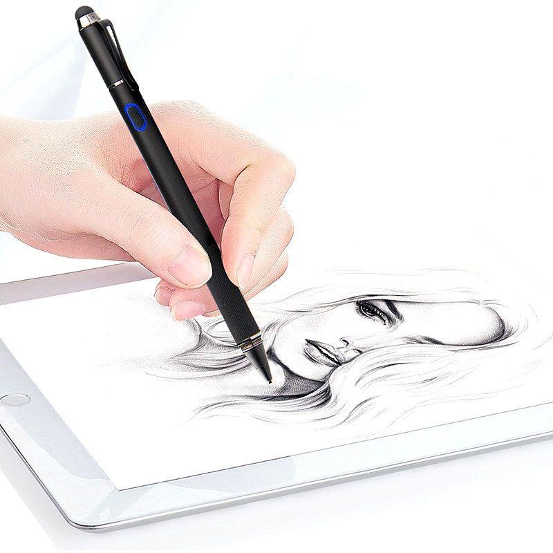 Für iPad 9,7 2017 Hohe präzision Stift Aktive Stylus Kapazitiven Touchscreen Für iPad Pro 10,5 9,7 12,9 zoll Tablet metall Bleistift