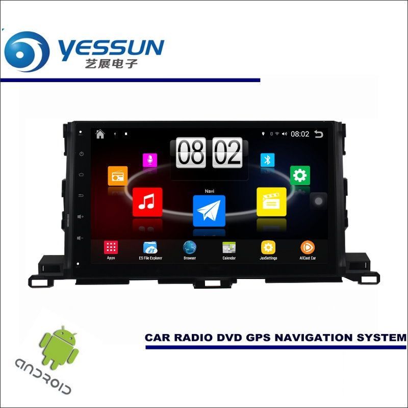 YESSUN Car Android Player Multimedia For Toyota Highlander XU50 / Kluger Radio Stereo GPS Nav Navi ( no CD DVD ) 10.1