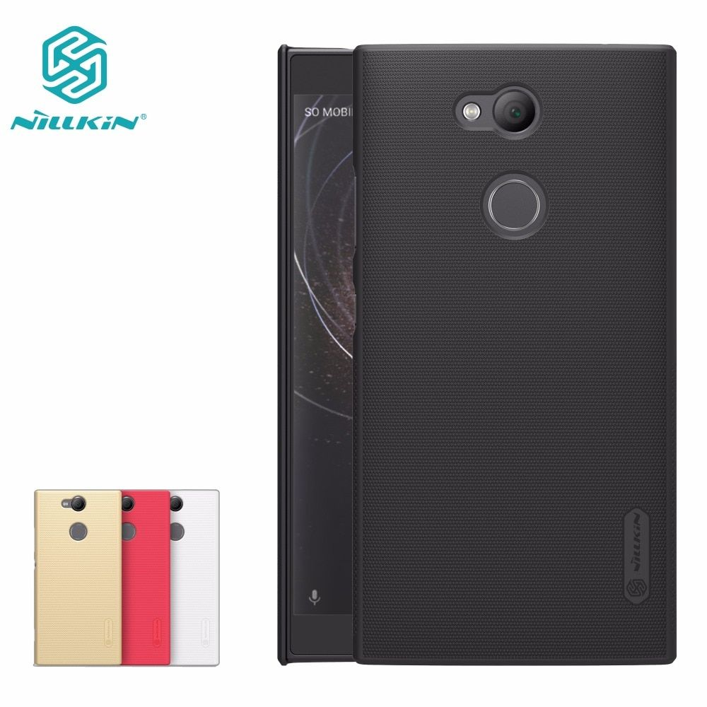 case for Sony Xperia XA2 /Sony XA2 Ultra Case NILLKIN Super Frosted Shield matte back cover with free screen protector
