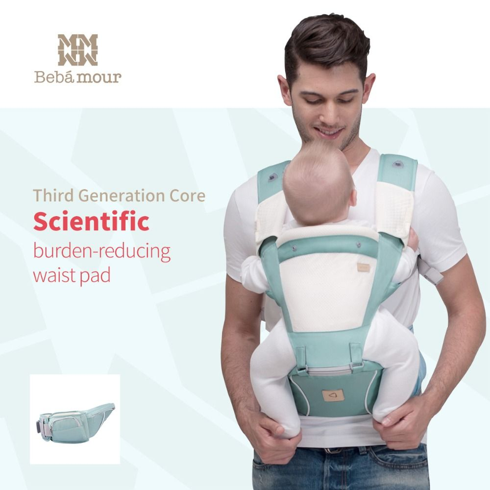 2018 Baby Hipseat Kangaroo Rucksack Mochila Portabebe Ergonomic Baby Carrier 360 Hip Seat Baby Sling for Newborn