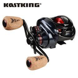 Kast Raja Spartakus/Spartacus Plus Baitcasting Reel Dual Sistem Rem Reel 8Kg Max Drag 11 + 1 BBS 6.3: 1 Kecepatan Tinggi Fishing Reel