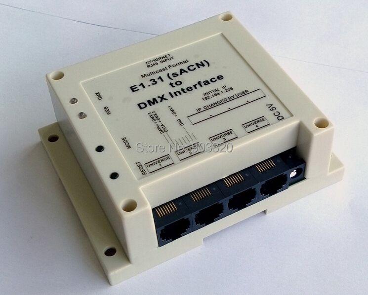 NEUE ANKUNFT E1.31 (sACN) DMX Controller zu DMX Interface/Brücke für Madrix, MagicQ, Leuchten, DMX Über Ethernet