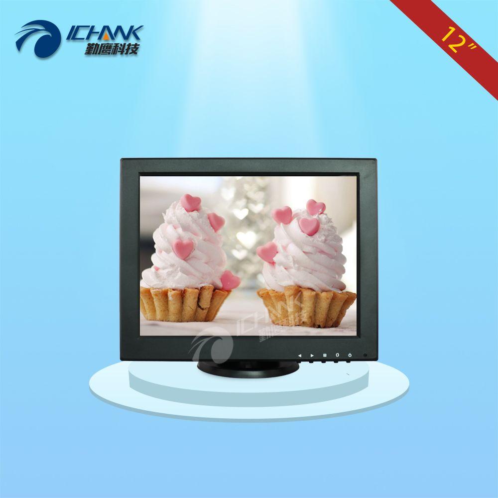 B120JNV-2/12 Monitor/12 zoll Mini PC LCD Display/12 1024x768 VGA-Signal kleine Standard Screen POS Mahlzeit Maschine Computer Überwachen