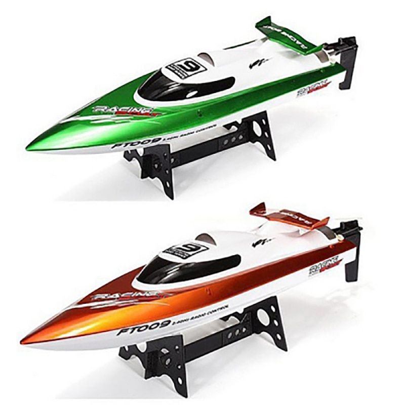 Fei Lun FT009 RC Boat 2.4G 4CH RC Racing Boat With Anti-Crash Cover High Speed Yacht Radio Control Boat With Rectifying Function