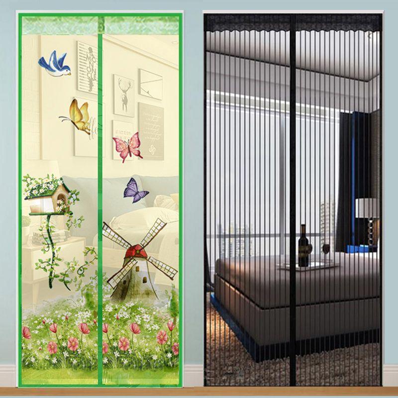Moustiquaire magnétique mains libres moustiquaire de porte moustiquaire anti-mouches moustiquaire moustiquaire de porte moustiquaire magnétique maille pour porte