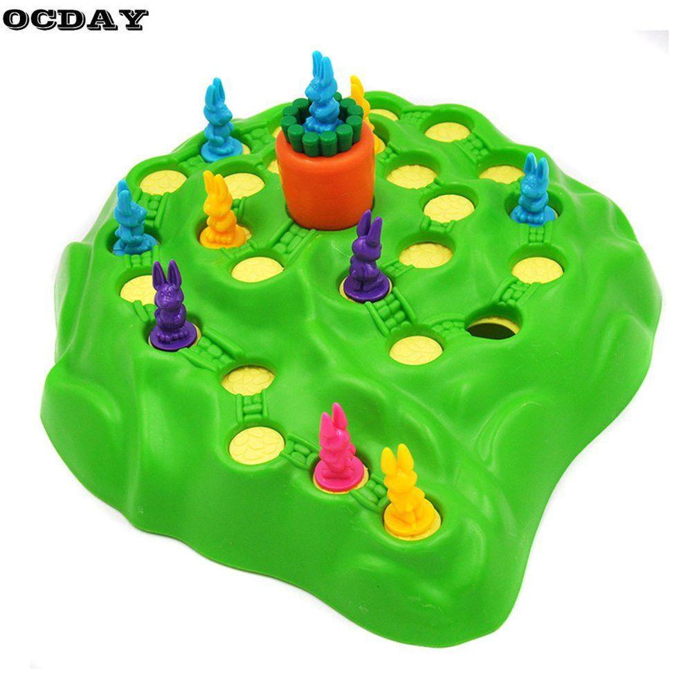 Забавный кролик Конкурентные игры игрушки кролика кросс родитель-ребенок взаимодействия настольные игры приключения кролики Игрушечные л...