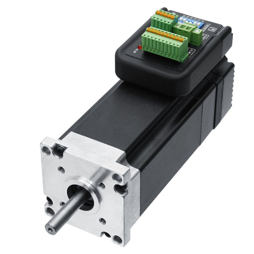 Neue 180 watt 3000 rpm 0.57Nm Integrierte Servo Motor 36VDC JMC iHSV57-30-18-36