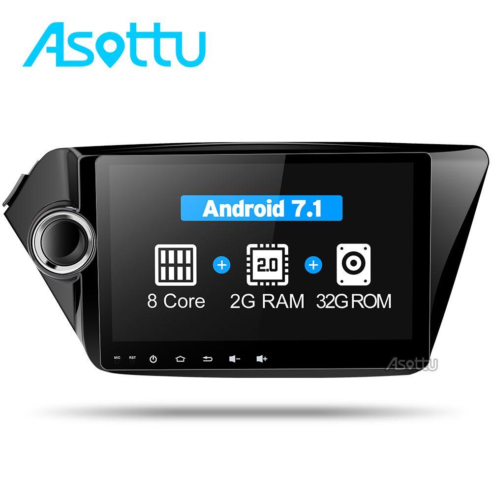 Asottu CK29060 2G android 7.1.2 car dvd player gps navigation for Kia k2 RIO 2010 2011 2012 2013 2014 2015 car stereo car radio