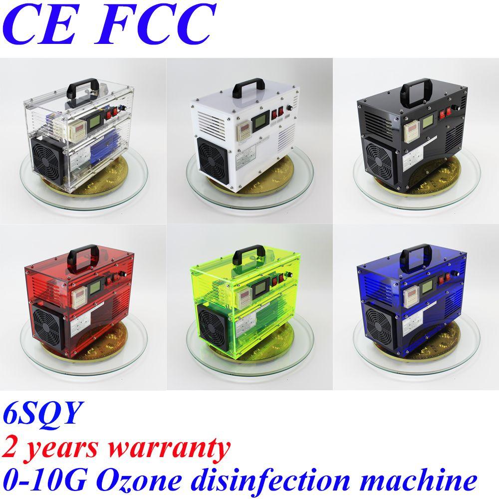 CE EMC LVD FCC Factory outlet Pinuslongaeva BO-1030QY 0-10 gr/std 10 gramm einstellbar ozongenerator hydro ozon therapie maschine