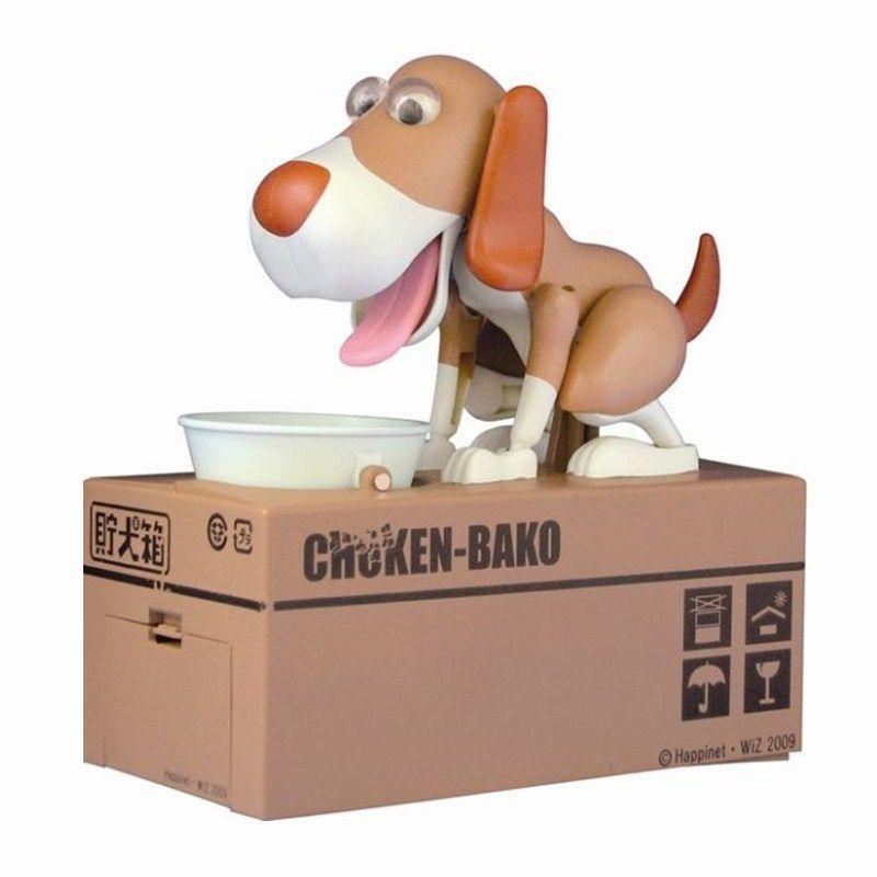 1pcs Cartoon Robotic Dog Banco Money Box Money Bank Automatic Stole Coin Piggy Bank Money Saving Banks Gift Moneybox
