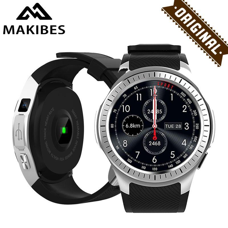 1 Year Warranty Makibes G05 Pro GPS Sport Watch Bluetooth Smart Watch HR blood pressure Call Message Reminder for XIAOMI IPHONE