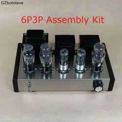 New DIY 6P3P Rumah Audio Tube Amplifier Kasus Komputer Baru 6N8P Murni Penuh Set Tabung Amplifier Perakitan DIY Kit 8 W + 8 W AC110V/220 V