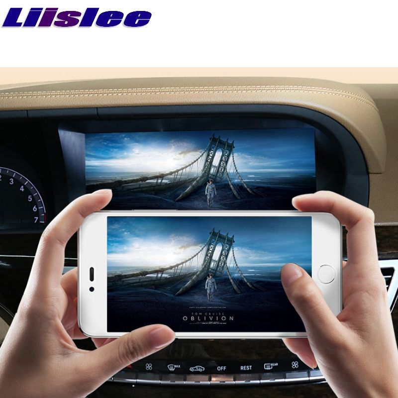Liislee Auto Multimedia Player NAVI CarPlay Adapter Für Mercedes Benz S W221 S280 S320 S400 S63 2006 ~ 2013 Radio GPS Navigation