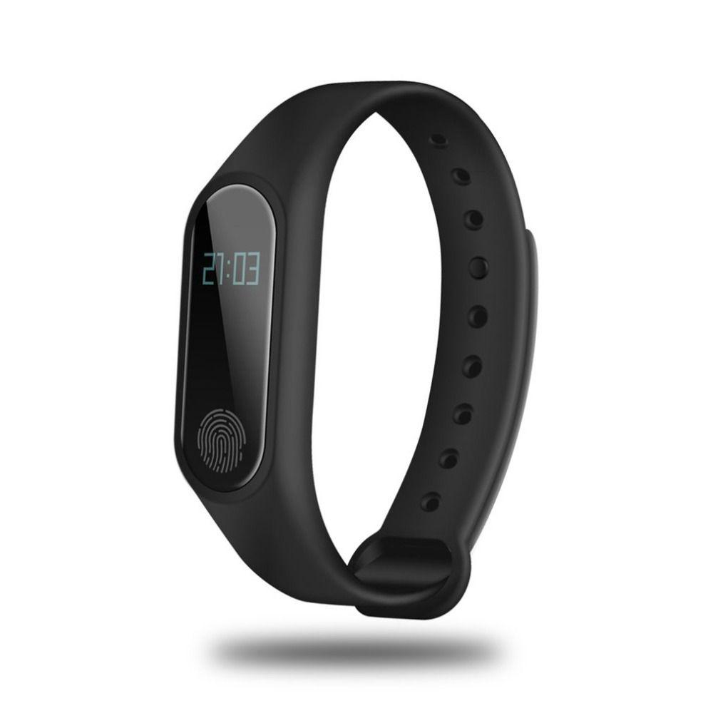 OLED Display Smartband Bluetooth Heart Rate Blood Pressure Monitor Time Display Sleep Monitor Health Care Smartband for IOS