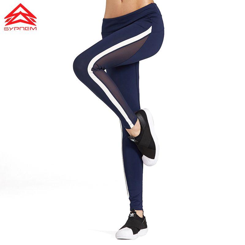 SYPREM sportswear New Arrival Women Yoga Pants Female Leggings Quick Dry Sports Running Gym Sexy sports pant High Elastic,1FP600
