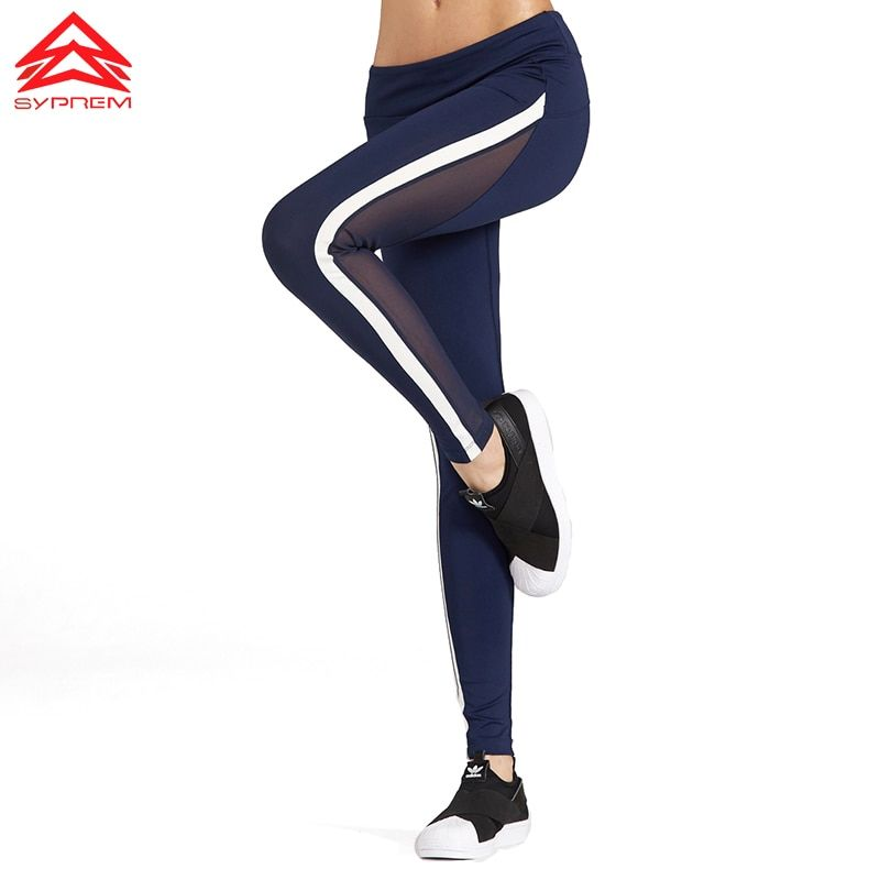 SYPREM sportswear New Arrival Women Yoga Pants Female Leggings Quick Dry Sports Running Gym Sexy sports pant High Elastic,1FP600
