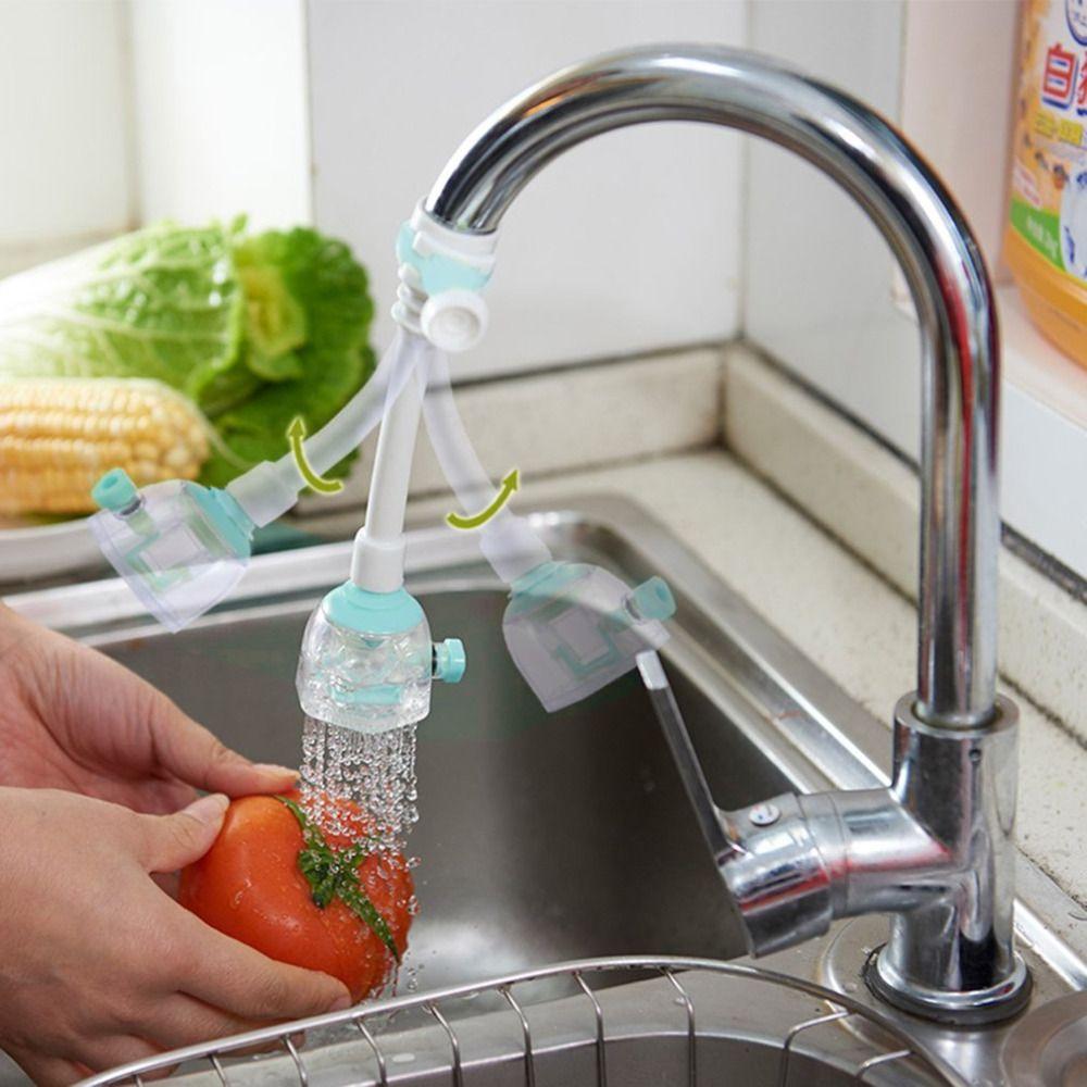 2 größen Küche Bad Wasserhahn Wasser Sparende Geräte Können Gedreht Spritzwasser Düse Filter Wassereinsparung Ventil 3 farben