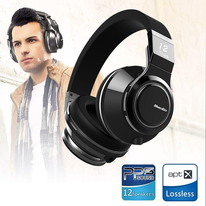 Bluedio V (победа) высокая-конец Bluetooth наушники/Беспроводная гарнитура PPS12 драйверы с микрофоном для музыки беспроводные наушники
