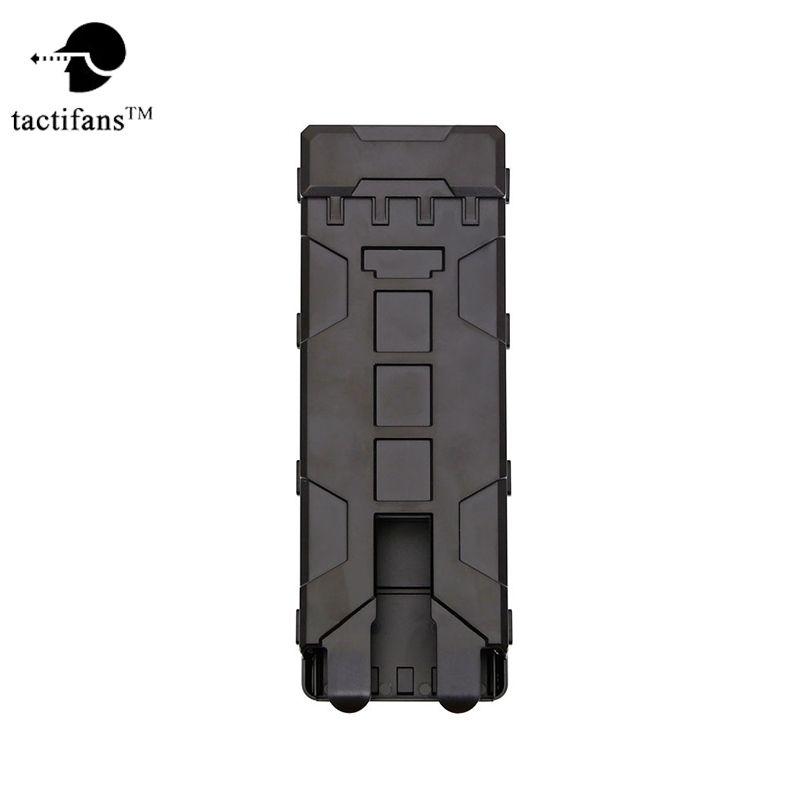 Tactifans 10 Runden ABS Tactical Pouch Reload Halter Molle tasche für 12 Gauge Magazintasche Ammo Runden Patrone Halter
