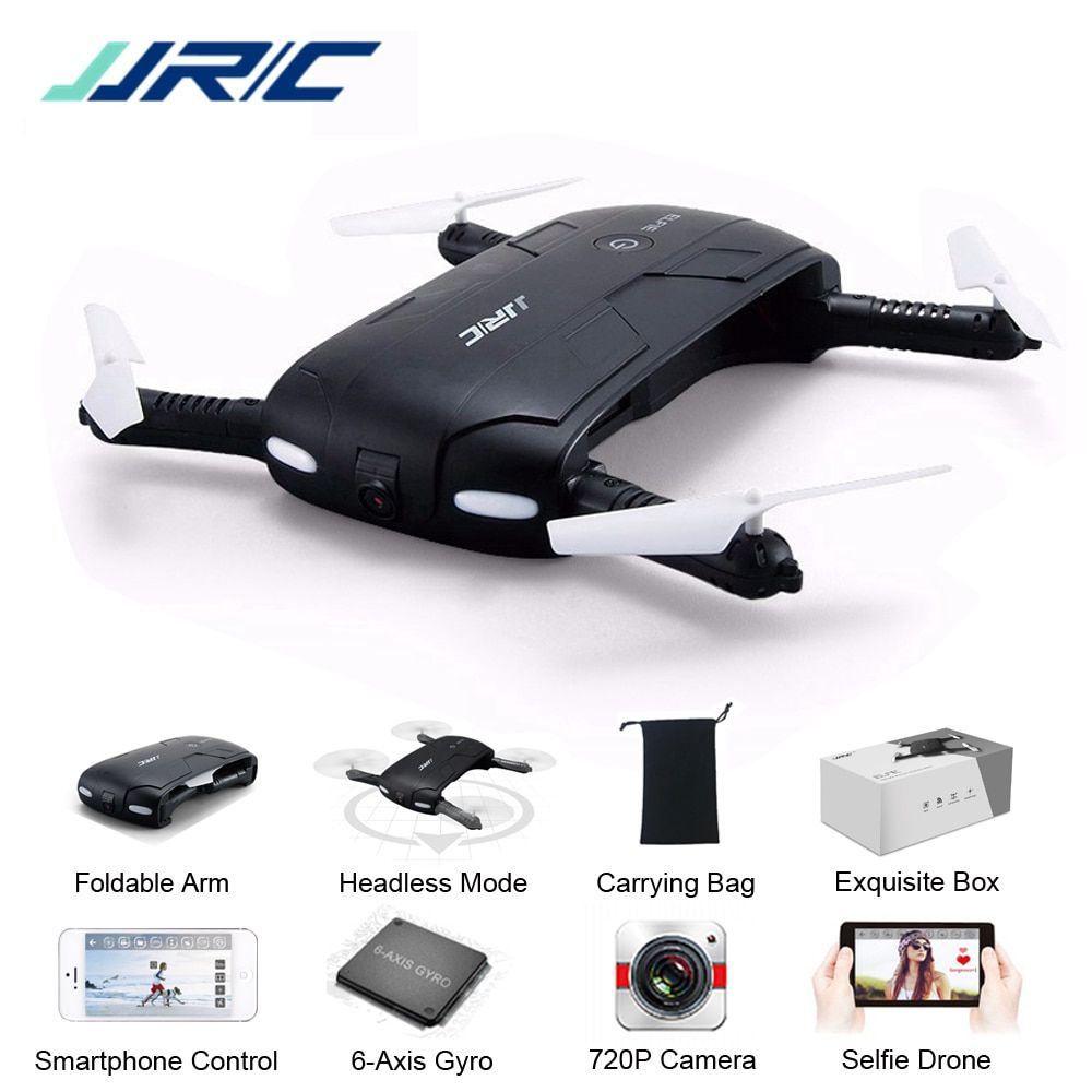 JJR/C JJRC H37 Elfie Mini Selfie Drone Upgraded 2MP WIFI FPV Camera Foldable Arm APP Control RC Quadcopter RTF VS Eachine E50