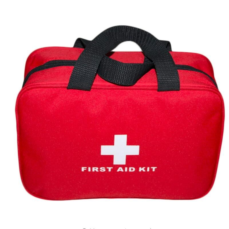 25*18*8cm Outdoor Emergency Survival First Aid Kit Bag Sports Camping Home Medical first aid kit