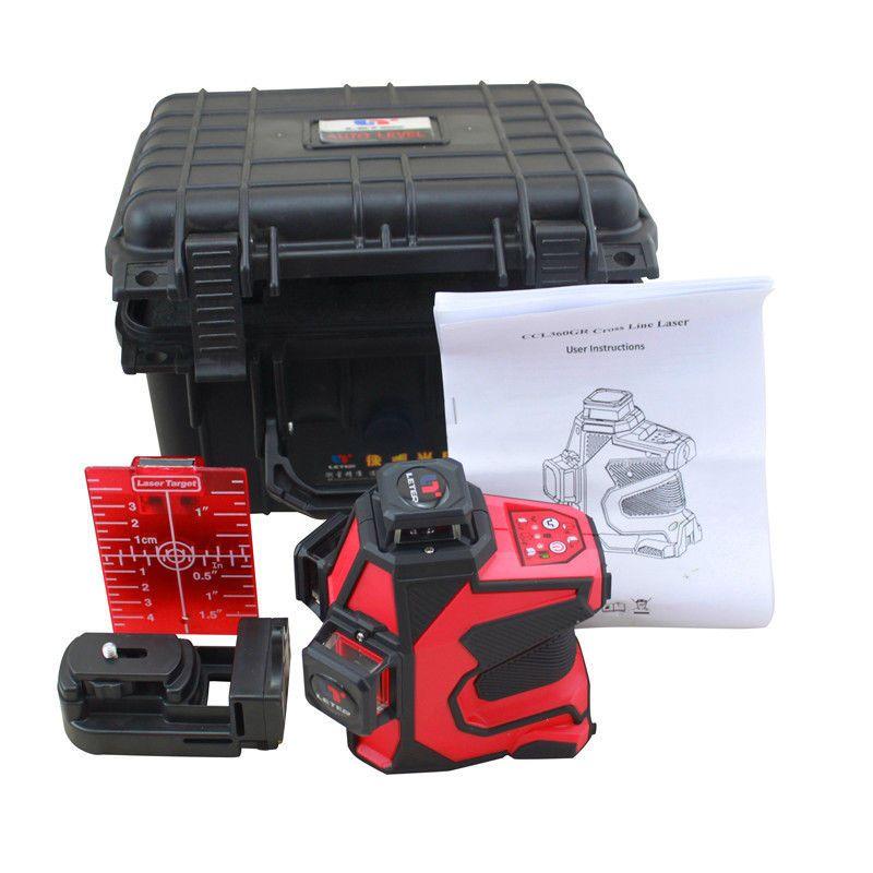 LETER 360 12 Linie 3D Laser Fließe CCL360GR Kreuzlinienlaser